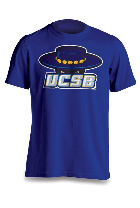 Four color silkscreened T Shirt in Santa Barbara